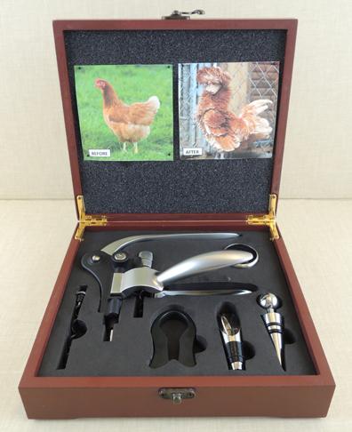 deluxe chicken grooming kit