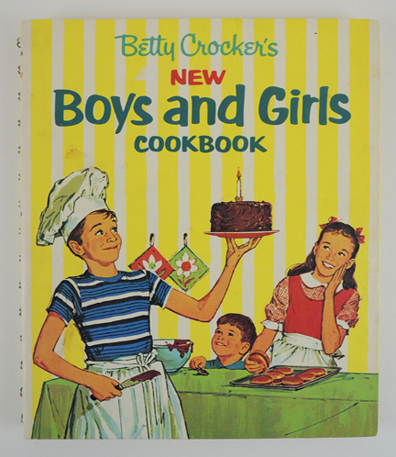 Betty Crocker's New Books and Girls Cookbook image courtesy of Betty Crocker and General Mills