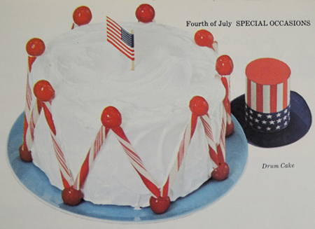 Drum Cake courtesy of Betty Crocker and General Mills