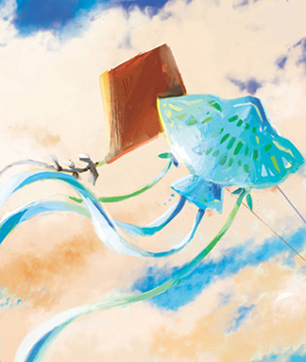 the kite flyers artwork by aliisa lee
