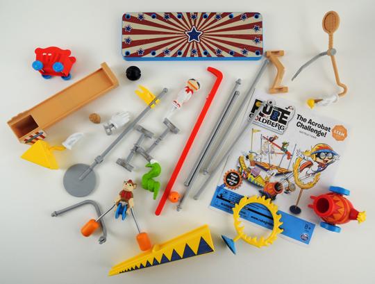acrobat challenge kit parts
