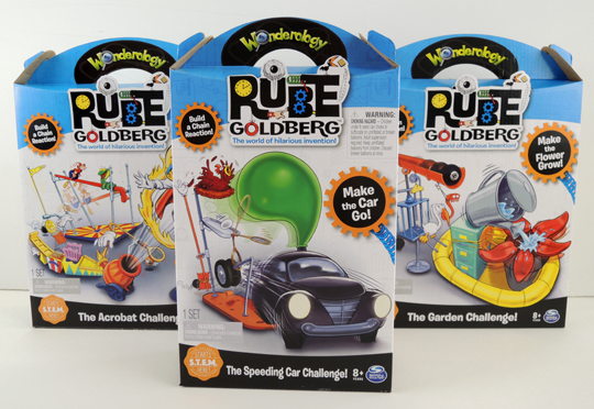 wonderology rube goldberg kits