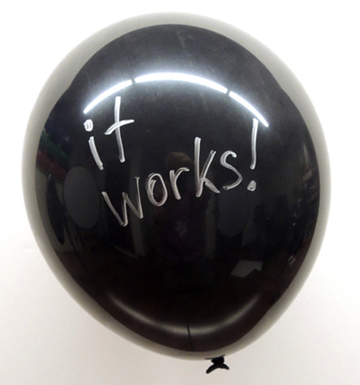 it works balloon