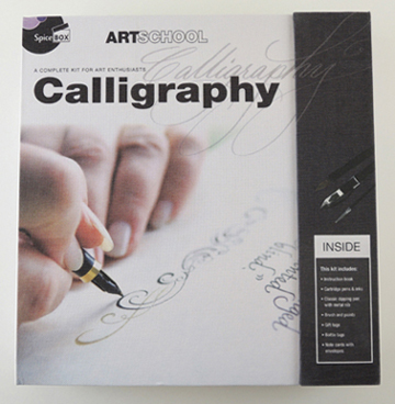 calligraphy kit by artschool