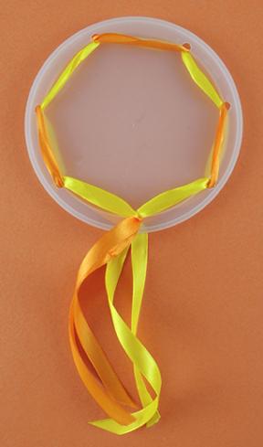 tambourine ribbons