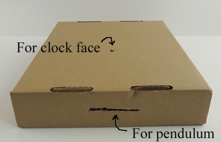 clock box step 1