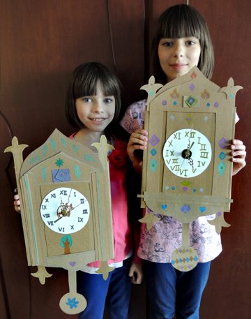decorated clocks
