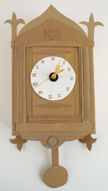 finished working clock