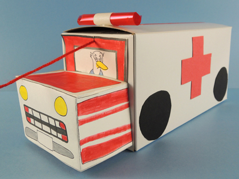 finished ambulance