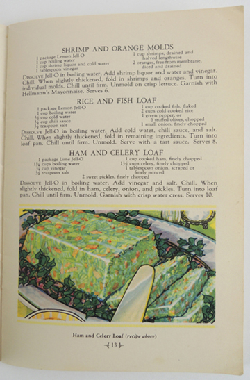 green loaf in greater jello recipe book