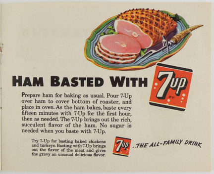 ham basted with 7up