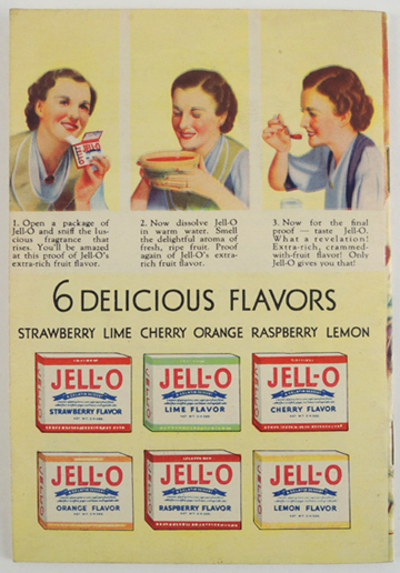 jello recipes back cover