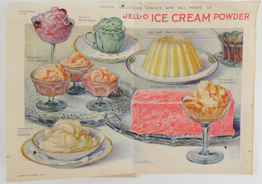 many reasons for jello ice cream interior