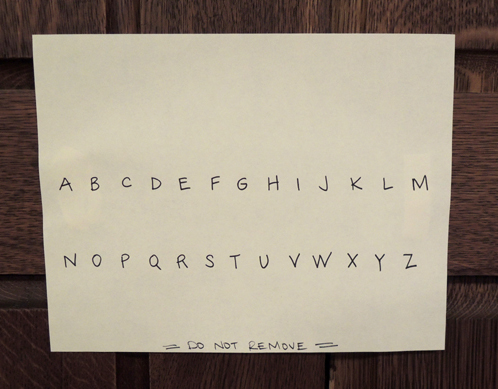 alphabet cipher