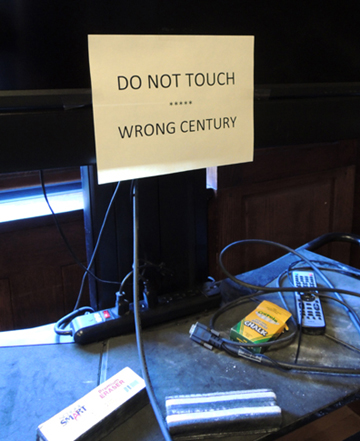 do not touch flatscreen
