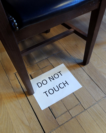 do not touch trapdoor