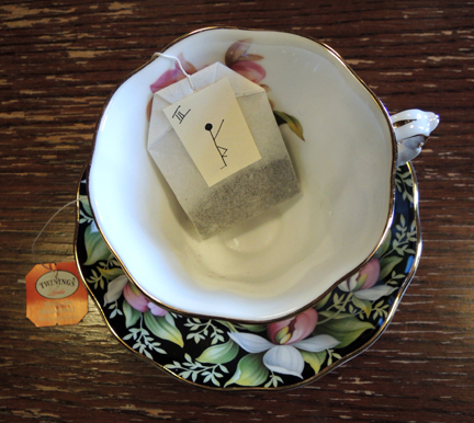 tea bag clue