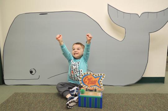whale of a winner!