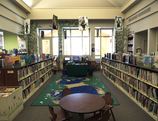 benardsville public library children's section