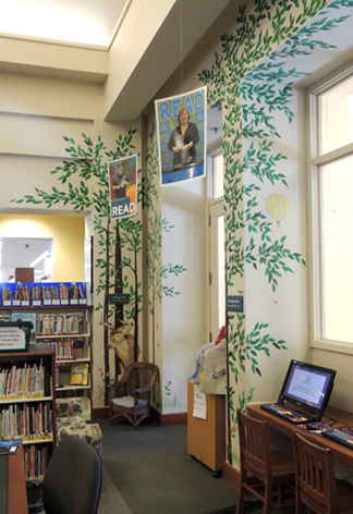 benardsville public library corner