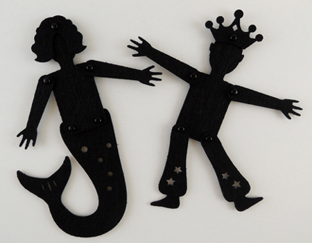 jointed shadow puppets