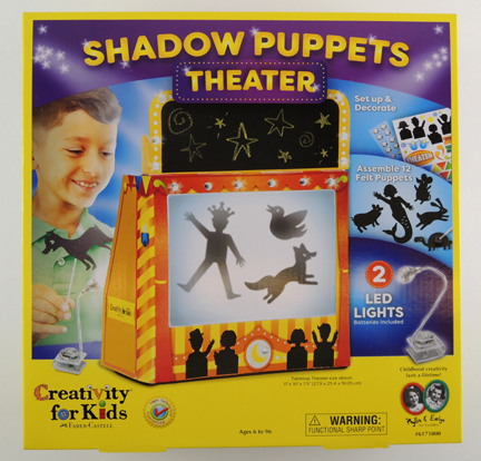 shadow puppets theater by creativity for kids