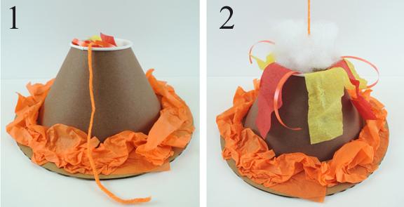 pull string volcano eruption