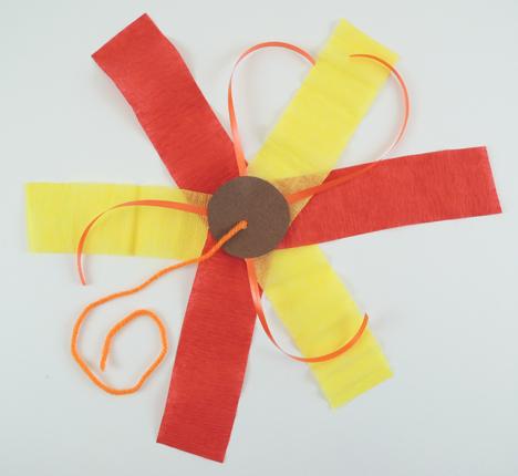 volcano eruption ribbon