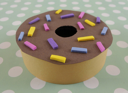 construction paper donut 3