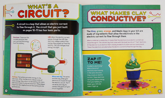 klutz circuit clay booklet