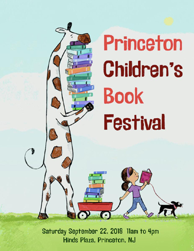 princeton children's book festival 2018 poster by angela dominguez