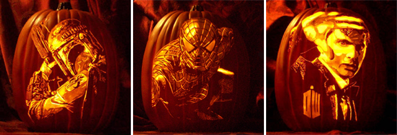 favorite pumpkins by the pumpkin geek