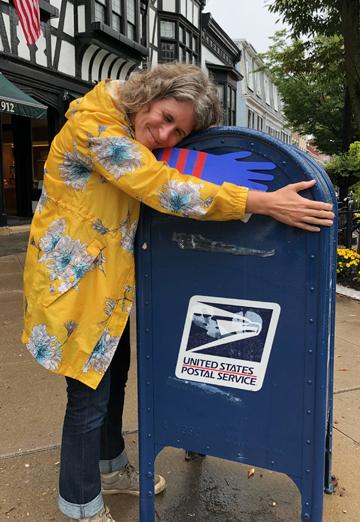 mailbox hug