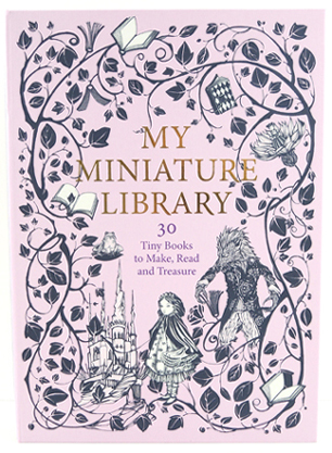 my minature library kit by laurence king publishing