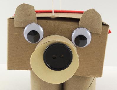 bear marionette face