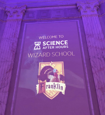 potter after hours at the franklin institute