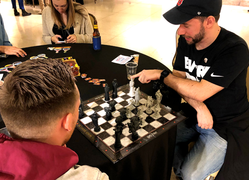 wizarding chess at the franklin institute