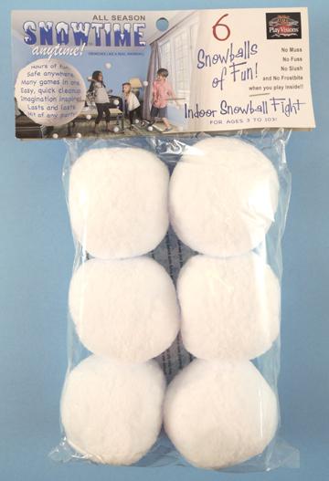 snowtime snowballs