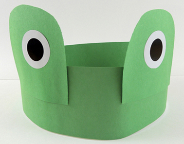 grown up frog headband