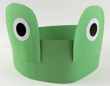 grown up frog headband