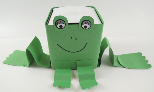 simple frog box