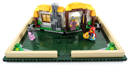 little red riding hood lego set