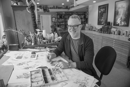 "Tony DiTerlizzi - Photo credit ""Jim Gipe photo / Pivot Media"""