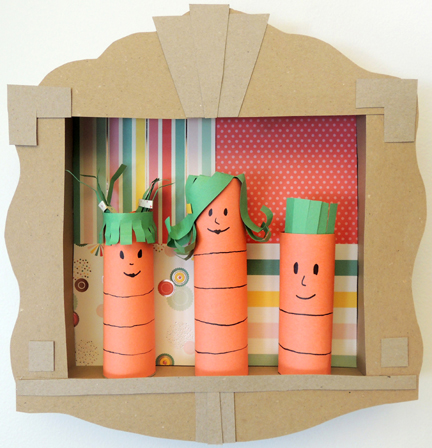 fabulous carrot family portrait