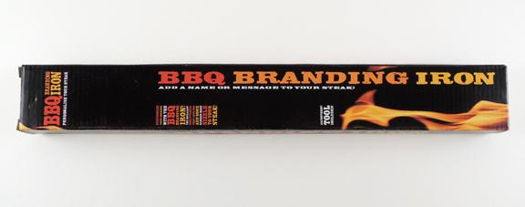 bbq branding iron box