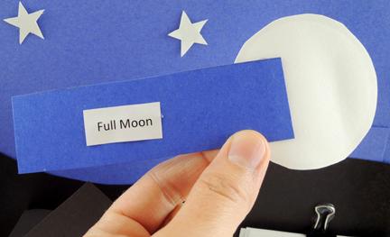 finished full moon stick