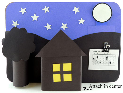 house attached to backdrop