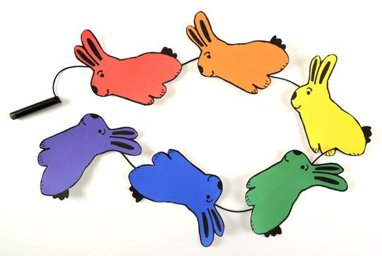 magic hat rabbits pull string