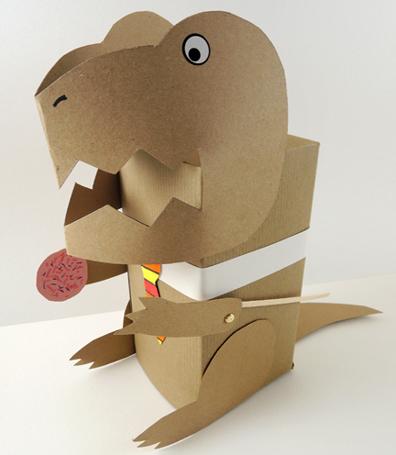 t rex puppet