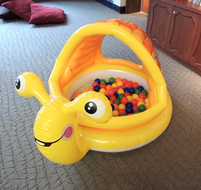 super snail ball bath